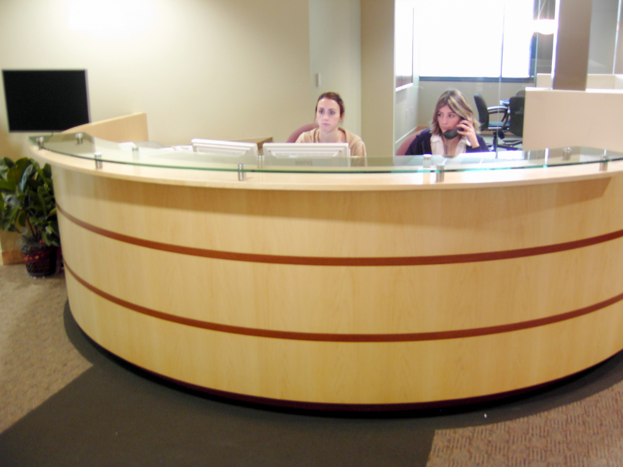 Reception Desk Ideas On Pinterest Desks