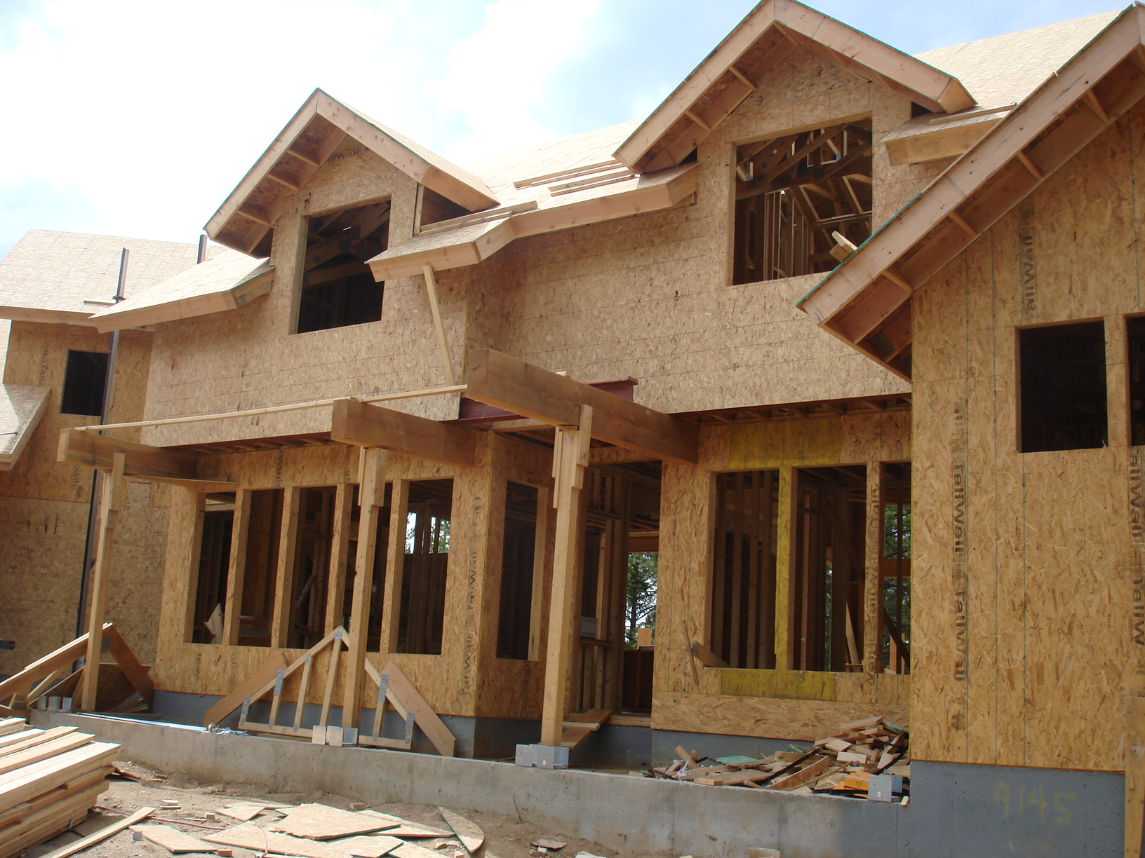 Osb lapok osb abh system kft for 5 structural types of log homes